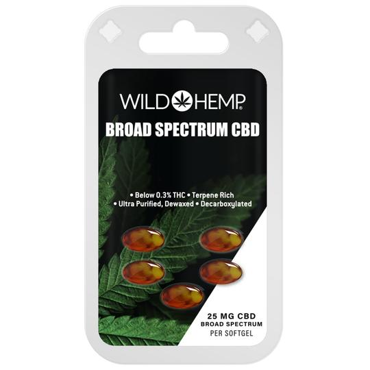 Wild Hemp CBD Softgels