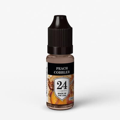 #24 Peach Cobbler (10mg)10ML Vape Juice E-Liquid.