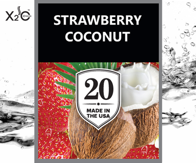 Strawberry Coconut Vape Juice #20