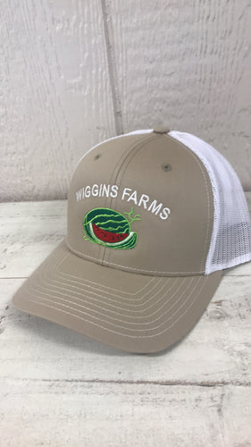 Wiggins Farms Tan Cap