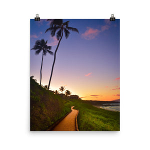 """Sunset In Kapalua"" - Maui 2018 Collection"
