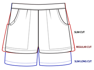 b. Small Slim (6cm inseam)