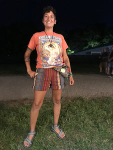 Woman wearing Medium Slim Long rolled at Firefly Music Festival!