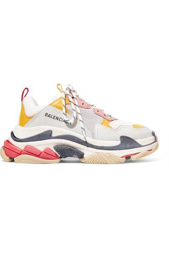 BalenciagaTriple S Trainer 'White Yellow'