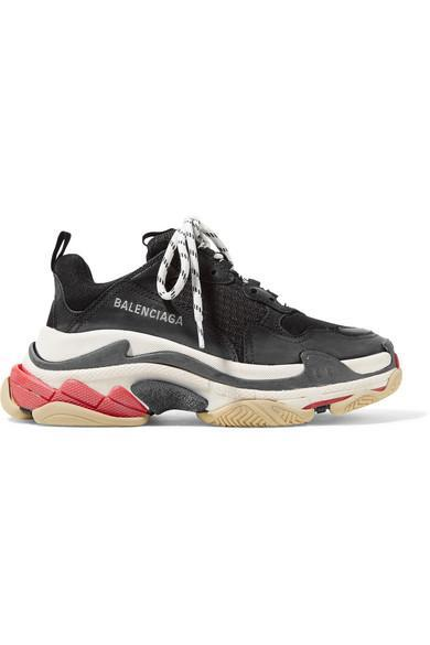 Balenciaga Triple S Sneaker 'Black Red'