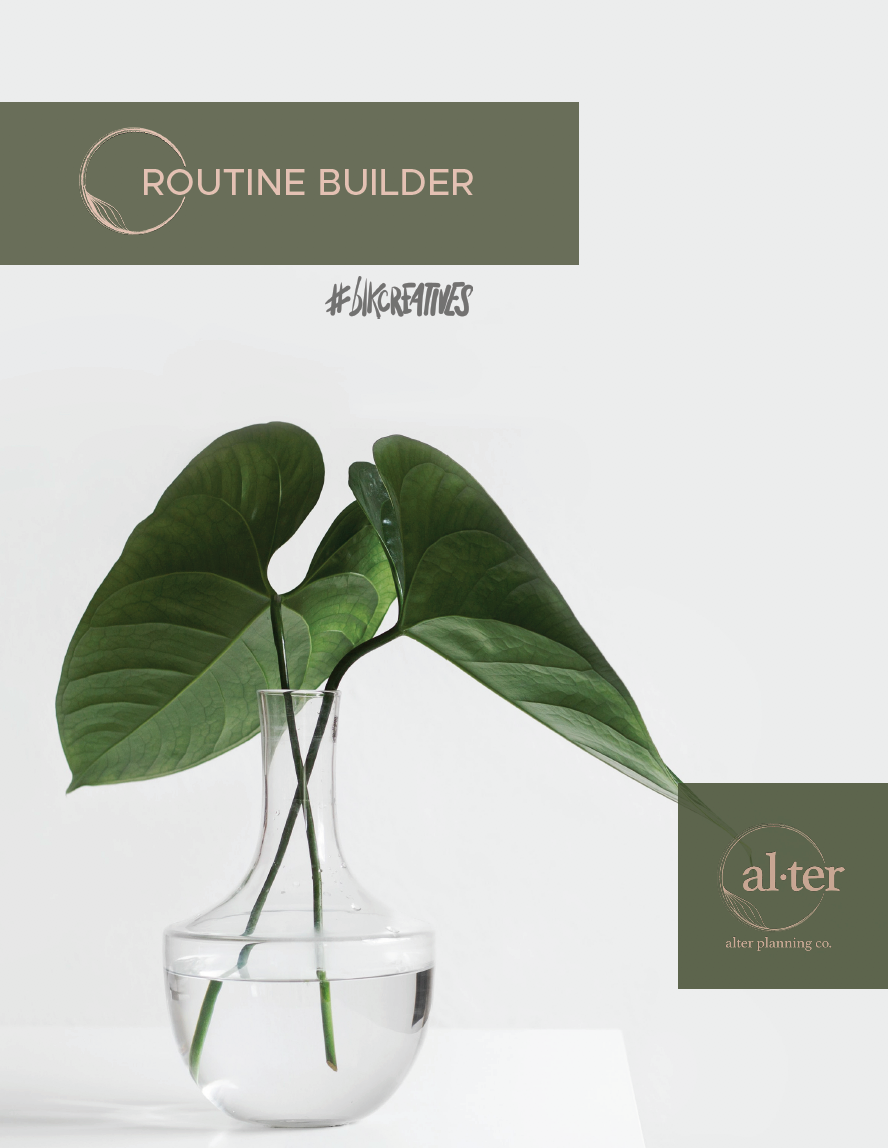 Routine Builder Mini-Workbook