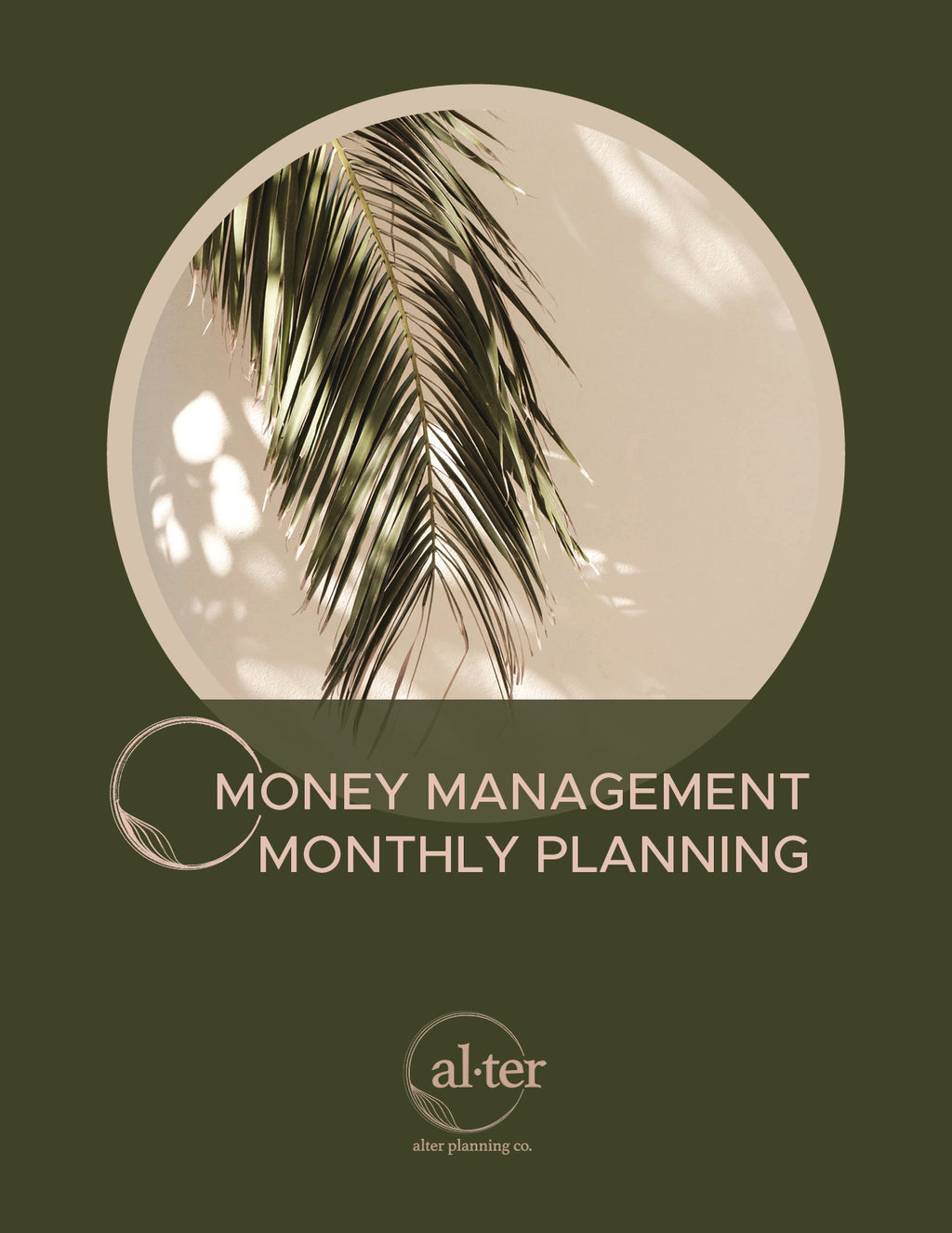 Monthly Money Management System [Digital Download]