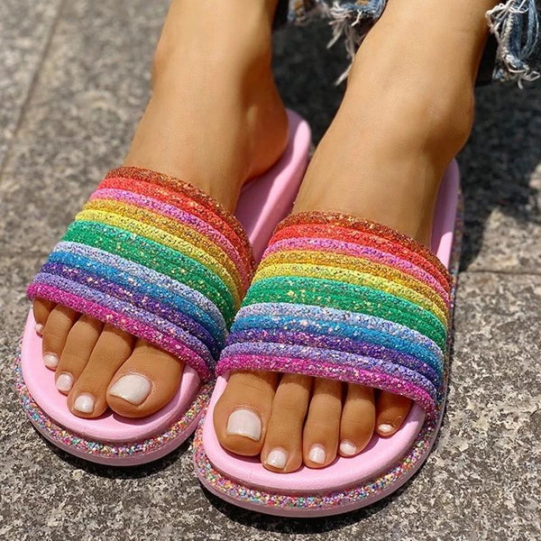 Summer Rainbow Slides - Flip Flop Labs
