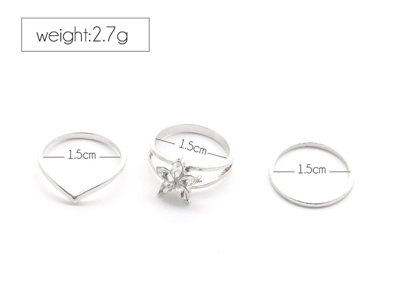 3 Piece Toe Ring Set - Flip Flop Labs