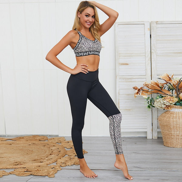 Crop Yoga Fitness Set - Flip Flop Labs