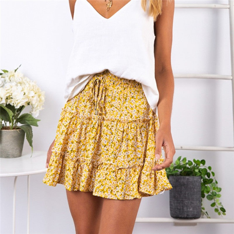 Sweet Frills Boho Mini Skirt - Flip Flop Labs