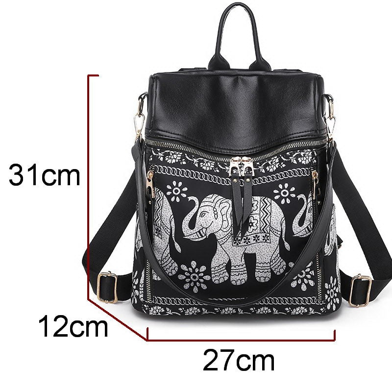 Multi-function Boho Backpack - Flip Flop Labs