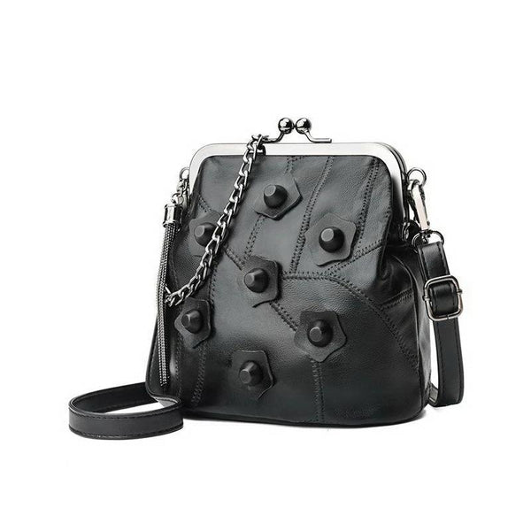Floral Rivet Shoulder Bag - Flip Flop Labs