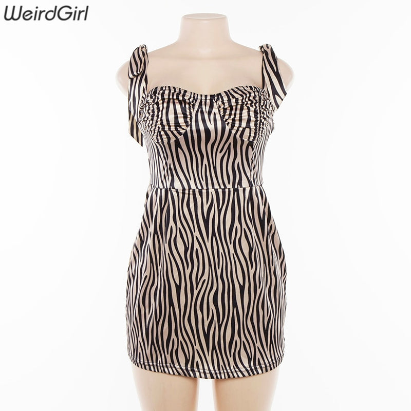 Tiger Girl Mini Dress - Flip Flop Labs