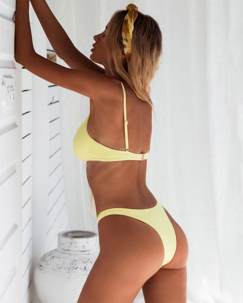 Push Up Cheeky Bikini - Flip Flop Labs