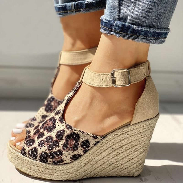 Ankle Strap Wedge Sandals - Flip Flop Labs