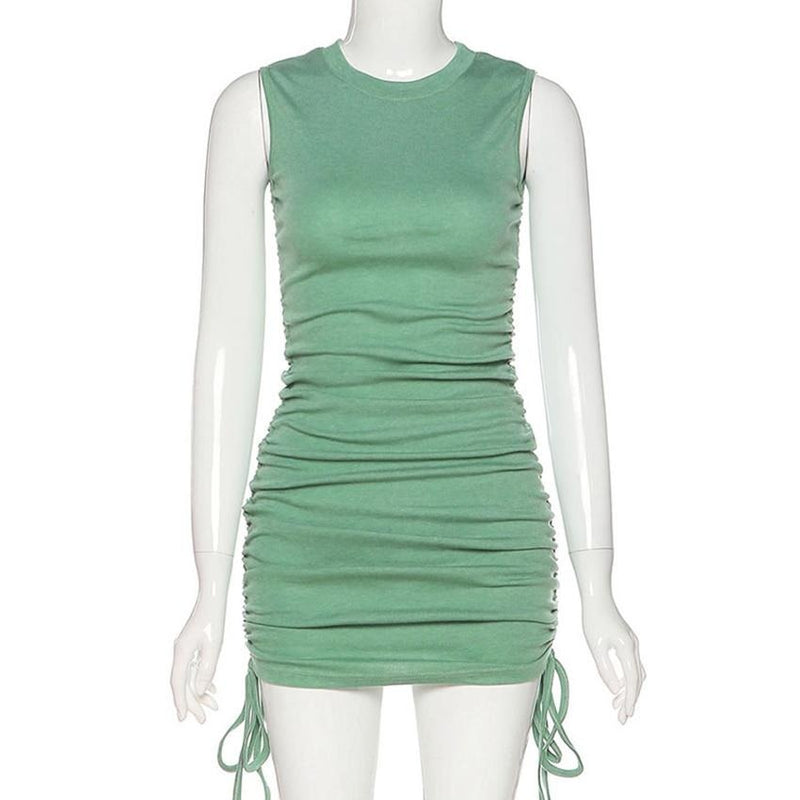Sleeveless Knitted Bodycon Dress - Flip Flop Labs