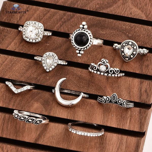 10 Piece Vintage Toe/Finger Ring Set - Flip Flop Labs