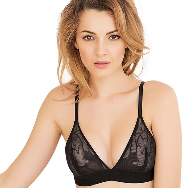 Ultra-thin Temptation Push Up Bra Set - Flip Flop Labs