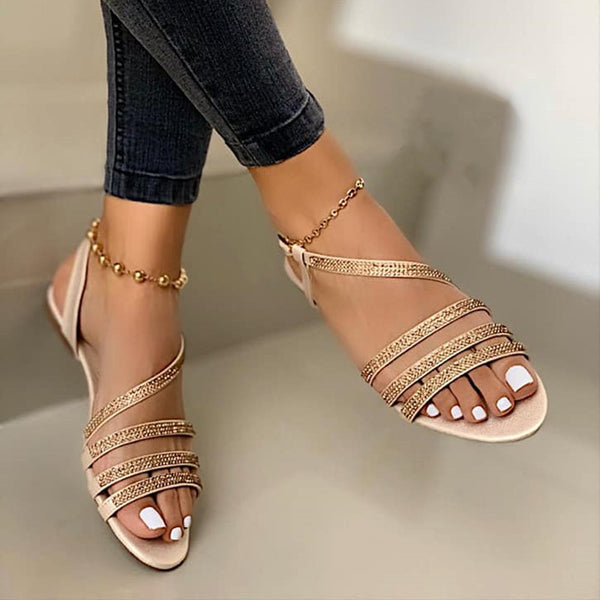 Sequined Sandals - Flip Flop Labs