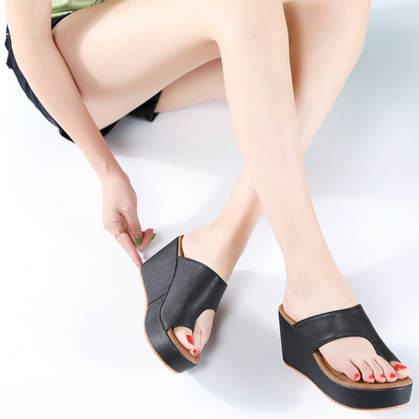 Summer Bunion Wedge Slippers - Flip Flop Labs