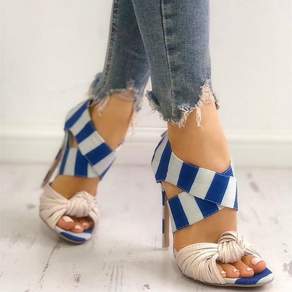Grecian Style High Heel Sandals - Flip Flop Labs
