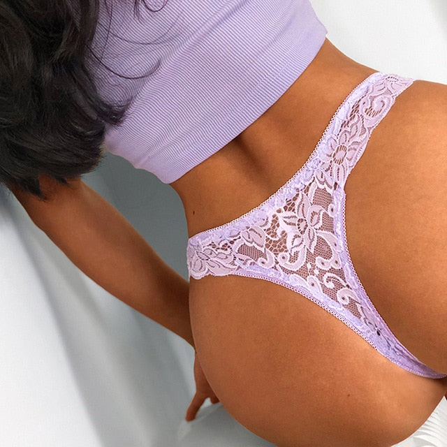 T-back Lace Thong - Flip Flop Labs