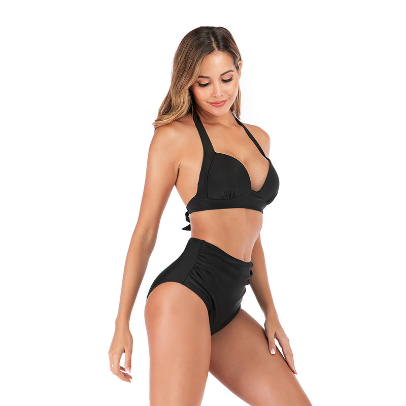 High Waist Bikini Set - Flip Flop Labs