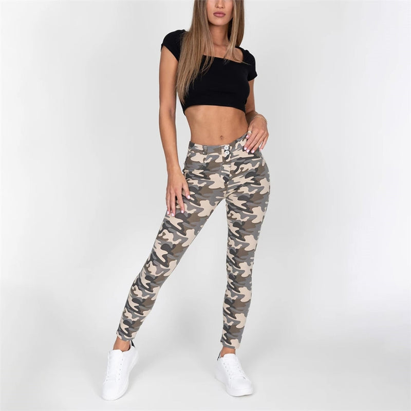 Camo Compression Leggings - Flip Flop Labs