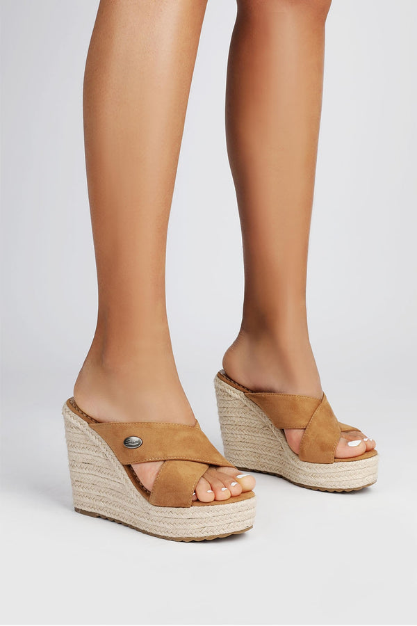 Wedge Boho X-Strap Slippers - Flip Flop Labs