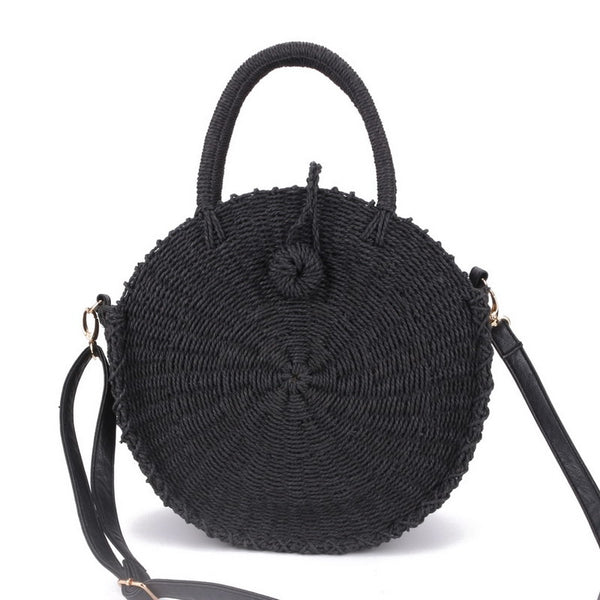 Handmade Round Shoulder Bag - Flip Flop Labs