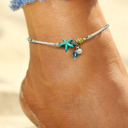 Tropical Beach Boho Anklet - Flip Flop Labs