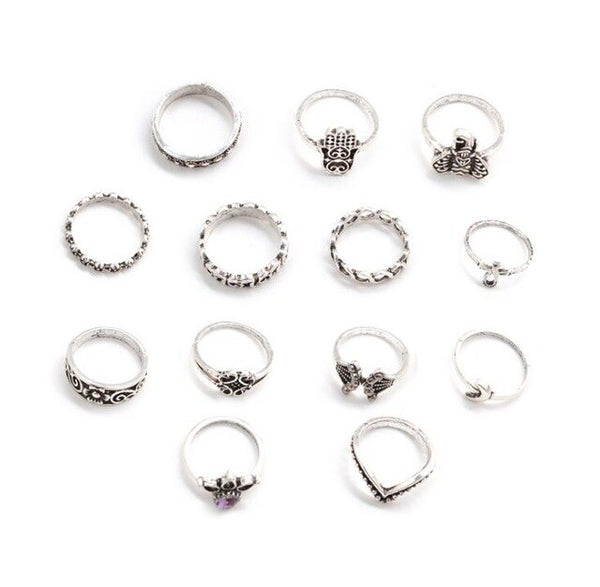 13 Piece Knuckle/Toe Ring Set - Flip Flop Labs