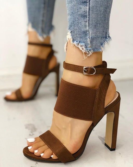 Bandage High-Heeled Sandals - Flip Flop Labs