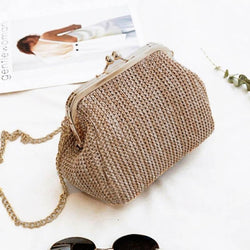 Rattan Cross-body Shoulder Bag - Flip Flop Labs