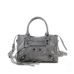 Lilly mini bag grey