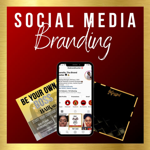 Custom social media graphics and templates