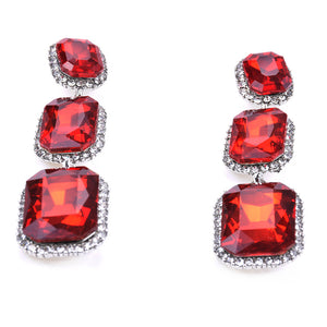 Alloy-Diamond-Stud-Long-Earrings