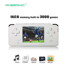 Load image into Gallery viewer, 2018 Portable Video Handheld Game Console Retro 64 Bit 3 Inch 3000 Video Game Retro Handheld Console to TV RS-97 RETRO-GANE 07