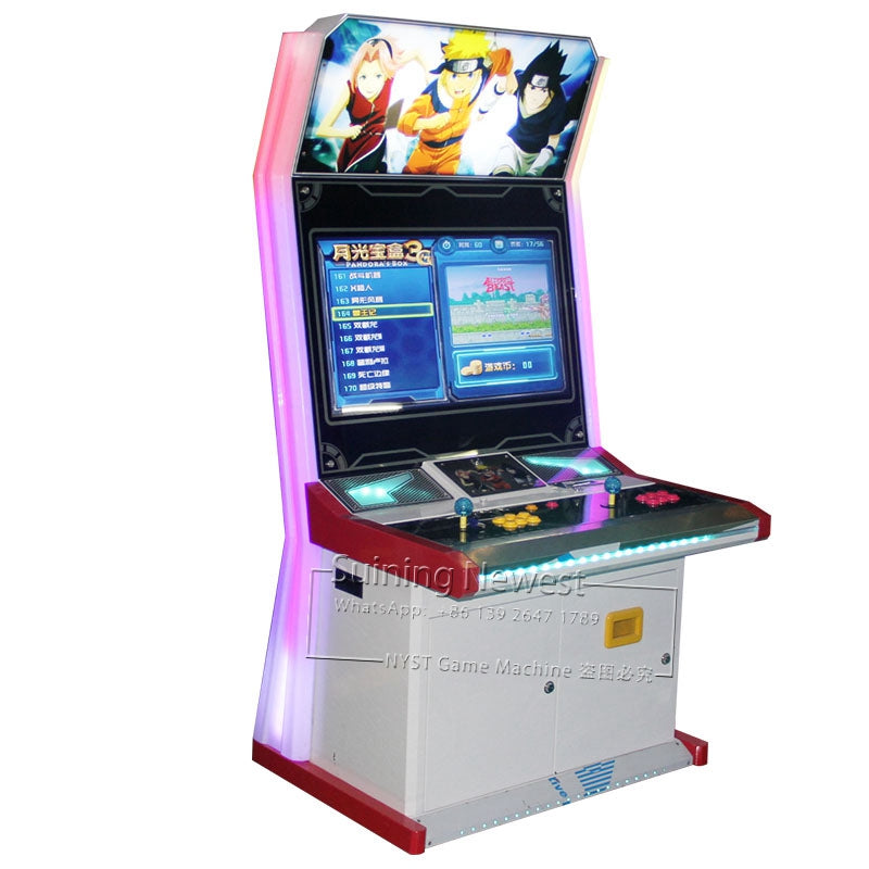 2019 New Design Amusement Machine Entertainment Video Street Fighter Coin Operated Arcade Cabinet Fighting Game Machine