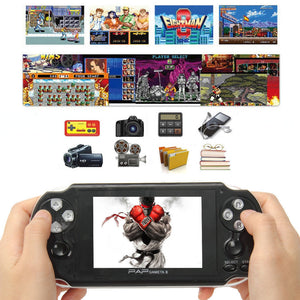 64Bit PAP Gameta II 4G HDMI Built-In 1000 Games MP4 MP5 Video Game Consoles Handheld Player