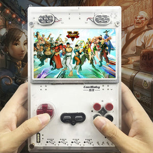 DIY 5.0 Inch HD IPS Screen Handheld Game Player with Raspberry pi Compute Module 3 Lite Game console Built-in Over 10000 Games