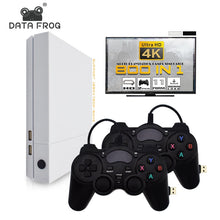 Load image into Gallery viewer, Data Frog HD 4GB Video Game Console  Built In 800 Classic Games For PS1/GBA/FC Maximum to 32 GB Retro Game Console