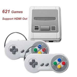 Mini Support HDMI Out Video Game Console Built-in 621 Retro Games Handle Game Player Double Handheld TV Game Console Best Gift