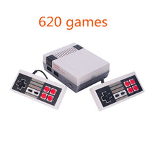 Load image into Gallery viewer, Mini TV Handheld Family Recreation Video Game Console AV Port Retro Built-in 500/620 Classic Games Dual Gamepad Gaming Player