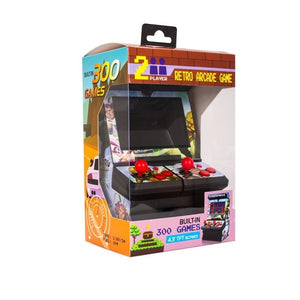 New 8 Bit  4.3 inch Mini Retro Wireless Double Joysticks Big Screen Arcade Handheld Game Console video game With 300 Games