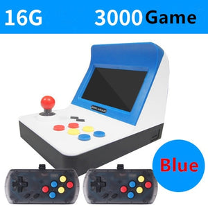 Retro ARCADE Mini Video Game Console 4.3 Inch Built In 3000 Games Handheld Game Console Family Kid Gift Toy For Christmas Gift