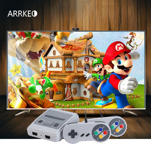 ARRKEO Childhood Retro Mini Classic TV HDMI 8 Bit Video Game Console Built-in 621 Games Handheld Gaming Player Christmas Gift
