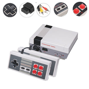 Mini TV Game Console 8 Bit Retro Video Game Console Built-In 620 Games Handheld Gaming Player