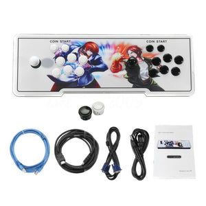 875 Games Home Multiplayer Arcade Game Console Controller Kit Set Double Joystick Console Best Gift for Children